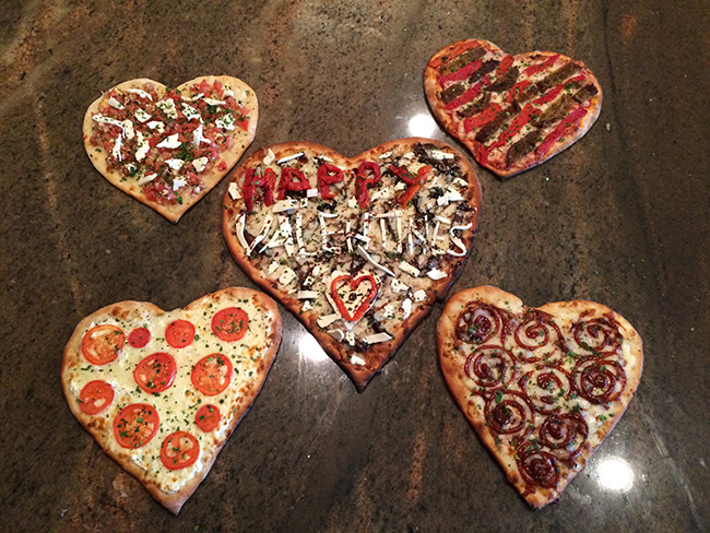 Valentine Special Pizza